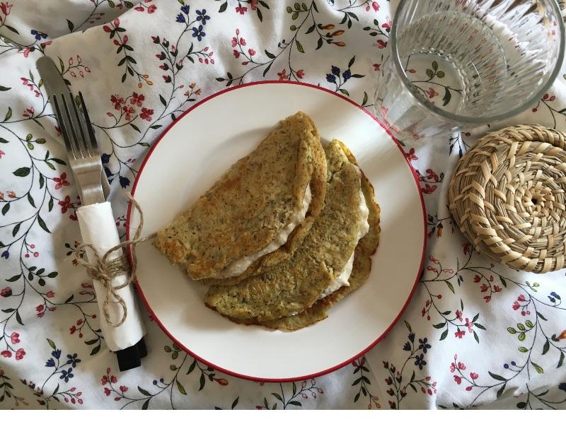 Frühstücks-Rezept: Nusspalatschinke