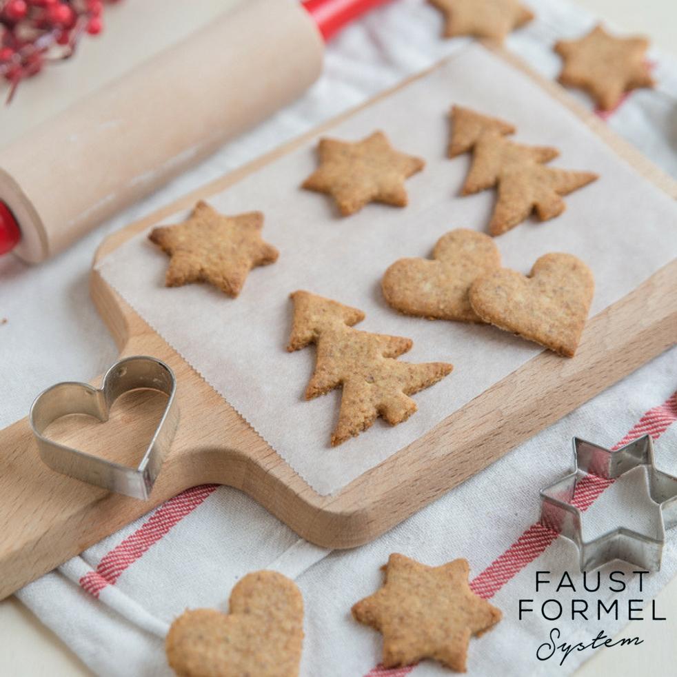 Womit süßt man Weihnachtskekse am besten?